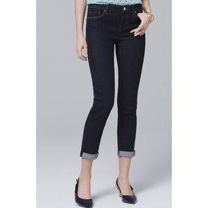 White House Black Market Jeans - WHBM dark wash Skinny Jeans Small